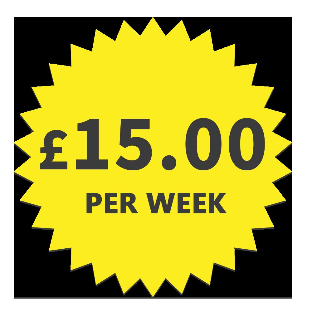 £12.70 per week